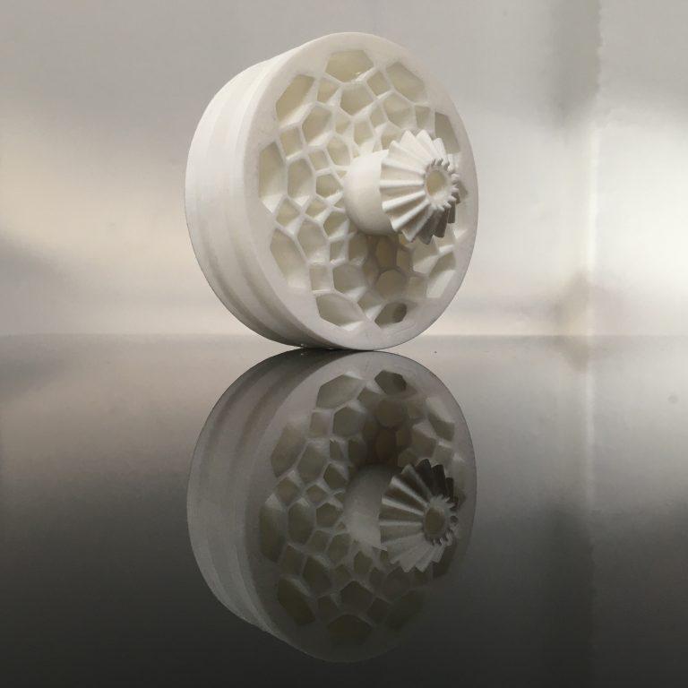 3D-Druck, Rad, Der bewegte Stuhl, Design: Anselm Stählin, Studio Ei Kommunikation Produkt Gestaltung