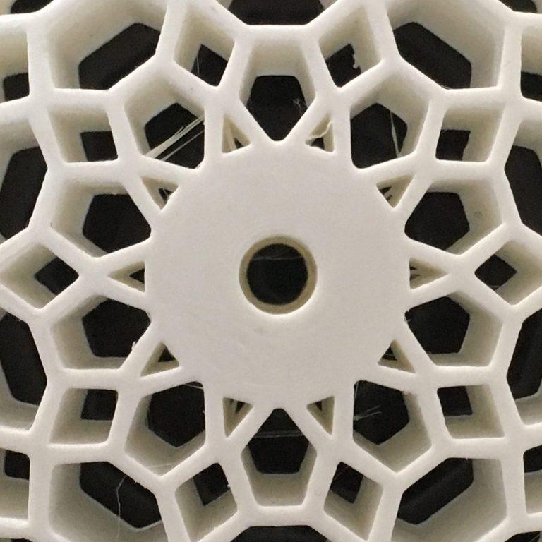 3D-Druck, Rad_Detail, Der bewegte Stuhl, Design: Anselm Stählin, Studio Ei Kommunikation Produkt Gestaltung