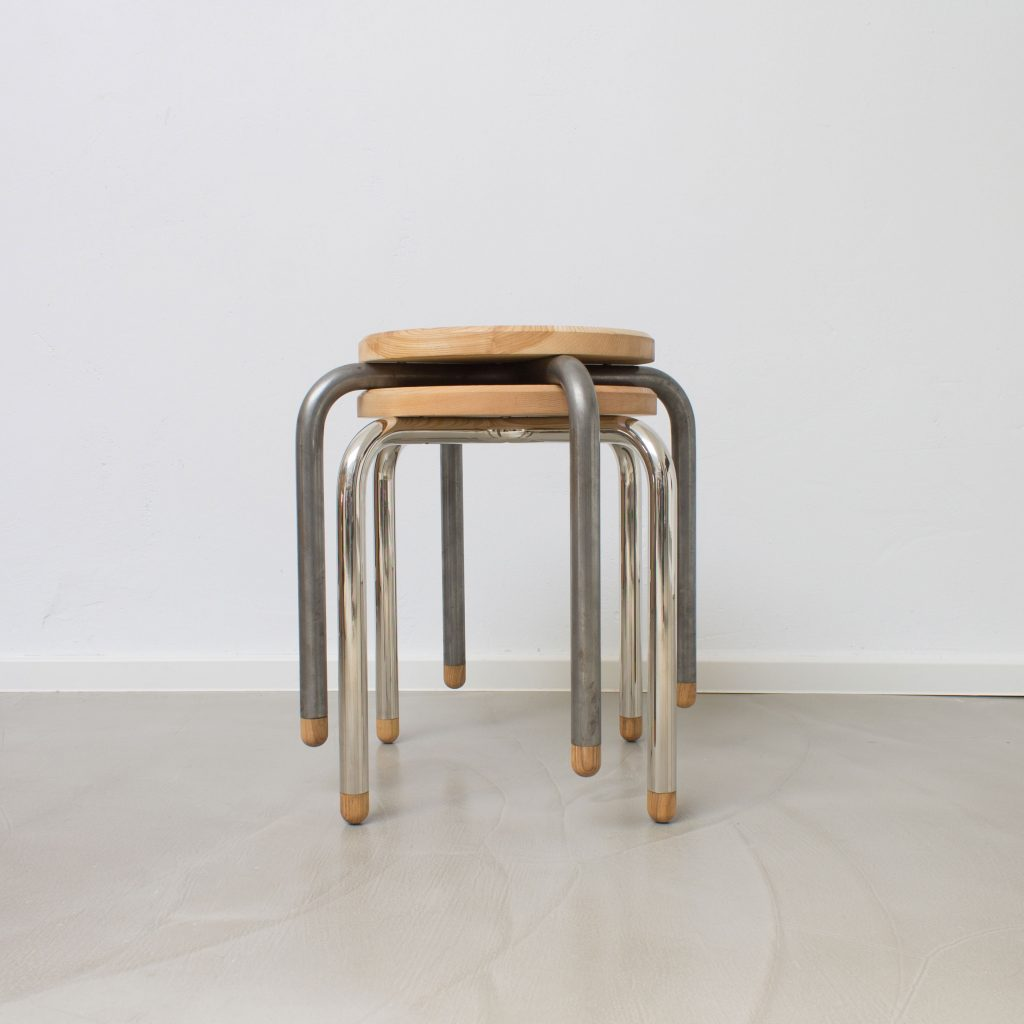 """Hockerentwurf """"Mignon"""". Design: Jörg Quintern, Studio Ei"""