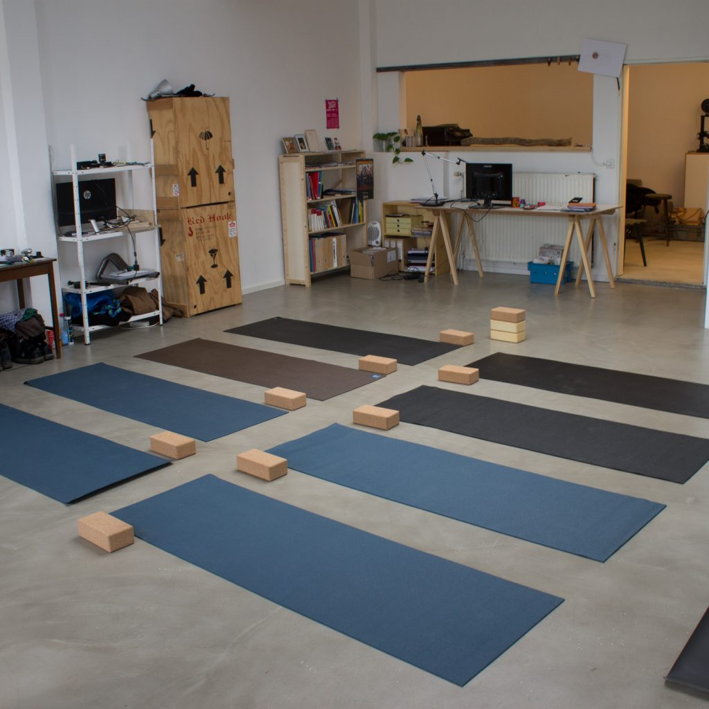 Erster Yoga Thinking Workshop im Ei