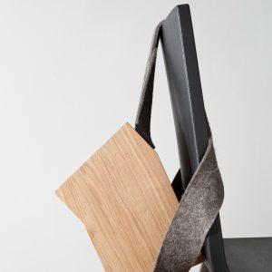 Stuhlrucksack aus der Serie Luftwurzler. Design: Anselm Stählin, Ei-Design